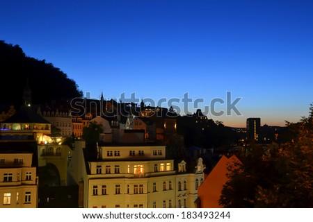 Karlovy Vary - stock photo