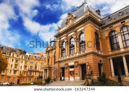 Karlovy Vary Imperial Spa I, Czech Republic - stock photo