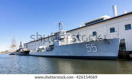 Historic Naval Ships Visitors Guide - HMS Bremon