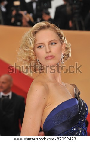 "Karolina Kurkova at the gala premiere for ""Midnight in Paris"" the opening film at the 64th Festival de Cannes. May 11, 2011  Cannes, France Picture: Paul Smith / Featureflash"