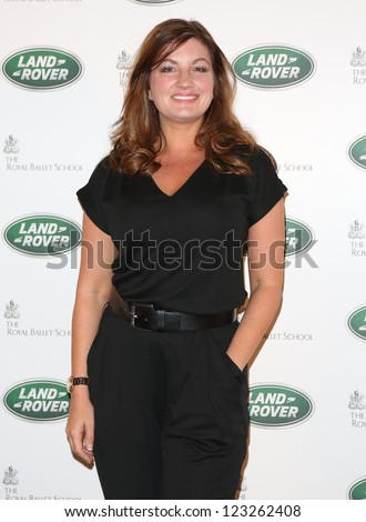 Karren Brady arriving for the all new Range Rover unveiling, London. 06/09/2012 Picture by: Henry Harris - stock photo