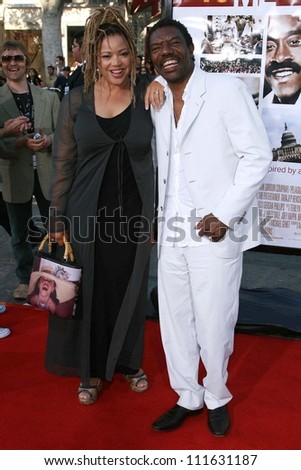 "Kasi Lemmons and Vondie Curtis-Hall at the 2007 Los Angeles Film Festival screening of ""Talk To Me"". Mann Village Theatre, Los Angeles, CA. 06-21-07"
