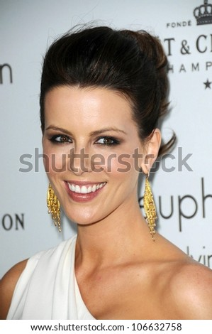 Kate Beckinsale  at ELLE Magazine's 15th Annual Women in Hollywood Event. Four Seasons Hotel, Beverly Hills, CA. 10-06-08 - stock photo