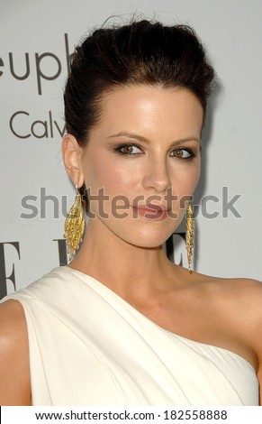 KATE BECKINSALE at 15TH Annual ELLE Women in Hollywood Event, The Four Seasons Beverly Hills, Los Angeles, CA, October 06, 2008