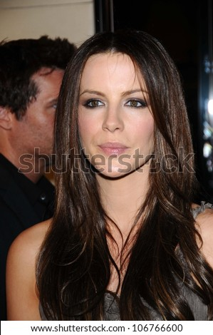 Kate Beckinsale  at the Burberry Beverly Hills Store Re-Opening. Burberry Beverly Hills Store, Beverly Hills, CA. 10-20-08 - stock photo