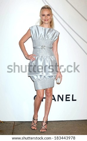 Kate Bosworth at Mobile Art CHANEL Contemporary Art Container by Zaha Hadid Opening Night Party, Rumsey Playfield in Central Park, New York, October 21, 2008 - stock photo