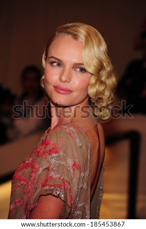 Kate Bosworth at Part 2-American Woman Fashioning a National Identity Benefit Gala Co-Hosted by GAP for the Costume Institute, The Metropolitan Museum of Art, New York May 3, 2010