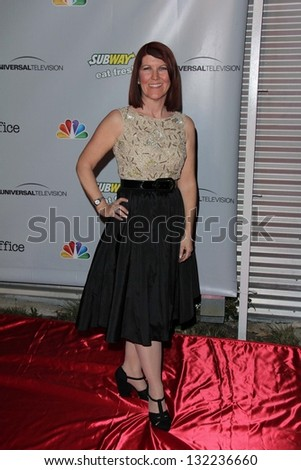 "Kate Flannery at ""The Office"" Series Finale Wrap Party, Unici Casa, Culver City, CA 03-16-13"