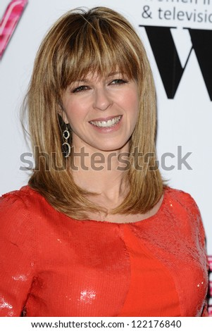 Kate Garraway arriving for the Women in Film and Tv Awards 2012 at the Park Lane Hilton, London. 07/12/2012 Picture by: Steve Vas