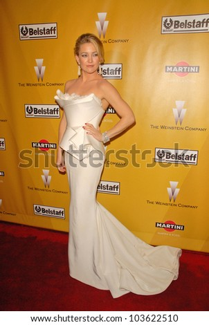 Kate Hudson at The Weinstein Company 2010 Golden Globes After Party, Beverly Hilton Hotel, Beverly Hills, CA. 01-17-10 - stock photo