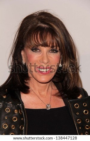 """Kate Linder at the SHARE 60th Annual """"Denim & Diamonds"""" Boomtown Event, Beverly Hilton Hotel, Beverly Hills, CA 05-11-13 - stock photo"""
