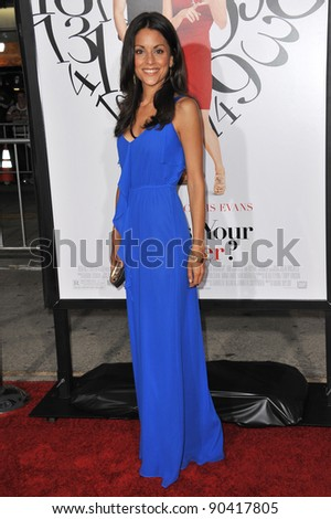 """Kate Simses at the Los Angeles premiere of her new movie """"What's Your Number?"""" at the Regency Village Theatre, Westwood. September 19, 2011  Los Angeles, CA Picture: Paul Smith / Featureflash - stock photo"""