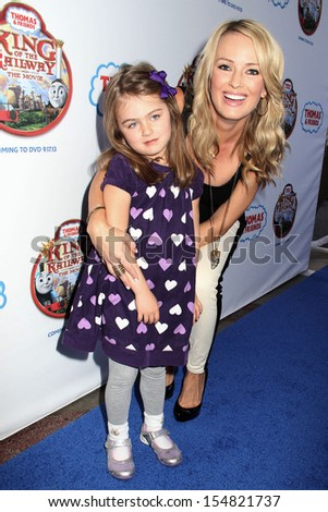 "Kate Victoria and Brooke Anderson at the ""Thomas & Friends: King Of The Railway The Movie"" LA Premiere, Pacific Theaters, Los Angeles, CA 09-15-13"