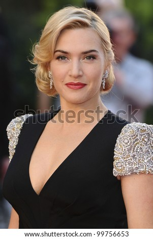 "Kate Winslet arriving for the ""Titanic 3D"" premiere at the Royal Albert Hall, Kensington, London. 27/03/2012 Picture by: Steve Vas / Featureflash"