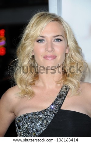 Kate Winslet   at the World Premiere of 'Revolutionary Road'. Mann Village Theater, Westwood, CA. 12-15-08