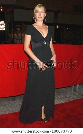 Kate Winslett at LITTLE CHILDREN Premiere - 44th New York Film Festival, Alice Tully Hall at Lincoln Center, New York, NY, September 30, 2006