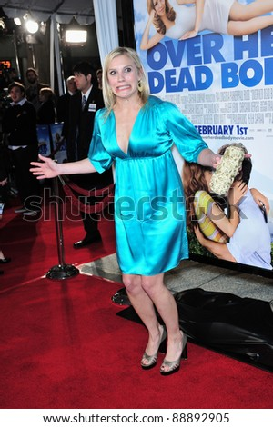 "Katee Sackhoff at the Los Angeles premiere of ""Over Her Dead Body"" at the Arclight Theatre, Hollywood. January 29, 2008  Los Angeles, CA Picture: Paul Smith / Featureflash - stock photo"