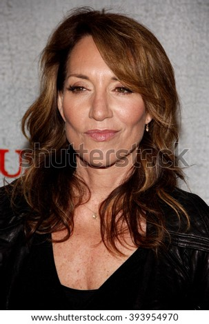 "Katey Sagal at the Premiere Screening of FX's ""Justified"" held at the Directors Guild of America in Hollywood, California, United States on March 8, 2010."