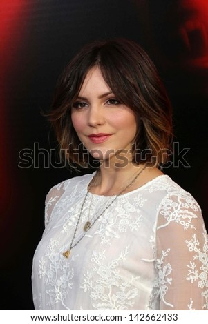 "Katharine McPhee at the ""True Blood"" Season 6 Premiere, Cinerama Dome, Hollywood, CA 06-11-13"