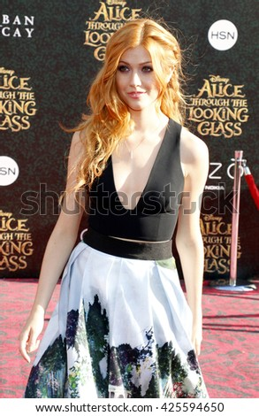 Katherine McNamara at the Los Angeles premiere of 'Alice Through The Looking Glass' held at the El Capitan Theater in Hollywood, USA on May 23, 2016.