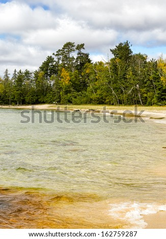 Katherine's Cove on north shore of  Lake Superior