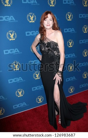 Kathleen York at the 65th Annual Directors Guild Of America Awards Arrivals, Dolby Theater, Hollywood, CA 02-02-13