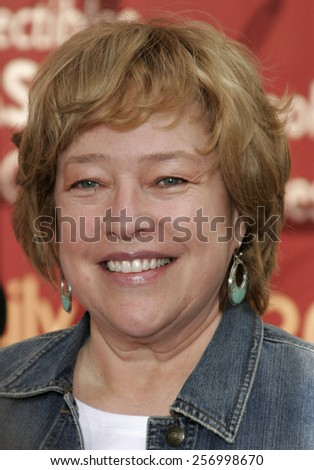 "Kathy Bates at the Los Angeles premiere of ""Charlotte's Web"" held at the ArcLight Cinemas in Hollywood on December 10, 2006."