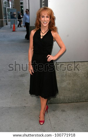 Kathy Griffin at the induction ceremony for Bill Maher into the Hollywood Walk of Fame, Hollywood, CA. 09-14-10