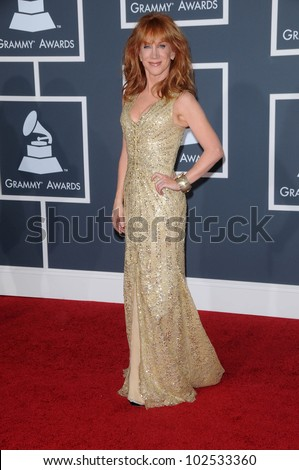Kathy Griffin  at the 52nd Annual Grammy Awards - Arrivals, Staples Center, Los Angeles, CA. 01-31-10