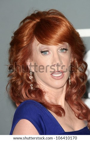 Kathy Griffin at the 51st Annual GRAMMY Awards. Staples Center, Los Angeles, CA. 02-08-09