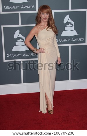 Kathy Griffin at the 54th Annual Grammy Awards, Staples Center, Los Angeles, CA 02-12-12