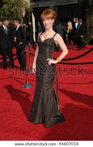 Kathy Griffin at the 59th Primetime Emmy Awards at the Shrine Auditorium. September 16, 2007 Los Angeles, CA Picture: Paul Smith / Featureflash
