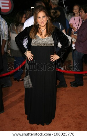 """Kathy Najimy  at the World Premiere of """"Wall E"""". Greek Theatre, Hollywood, CA. 06-21-08 - stock photo"""