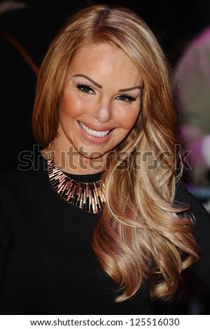 Katie Piper arriving for the UK premiere of 'Flight' at Empire Leicester Square, London. 17/01/2013 Picture by: Steve Vas - stock photo