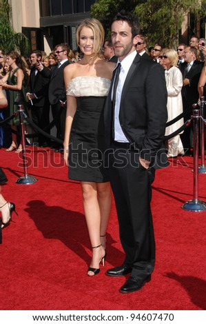 Katrina Bowden & B.J. Novak at the 59th Primetime Emmy Awards at the Shrine Auditorium. September 16, 2007 Los Angeles, CA Picture: Paul Smith / Featureflash