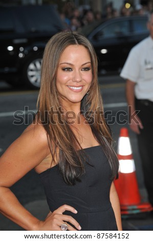 "Katy Mixon at the world premiere of her new movie ""All About Steve"" at Grauman's Chinese Theatre, Hollywood. August 26, 2009  Los Angeles, CA Picture: Paul Smith / Featureflash - stock photo"