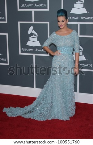 Katy Perry at the 54th Annual Grammy Awards, Staples Center, Los Angeles, CA 02-12-12