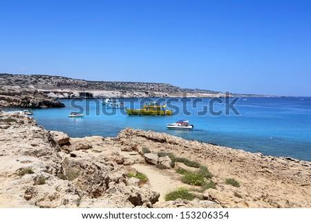 Kavo Greko cape in Cyprus. - stock photo