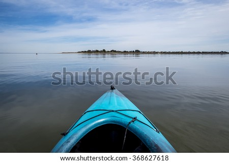 Kayak on a Calm Day