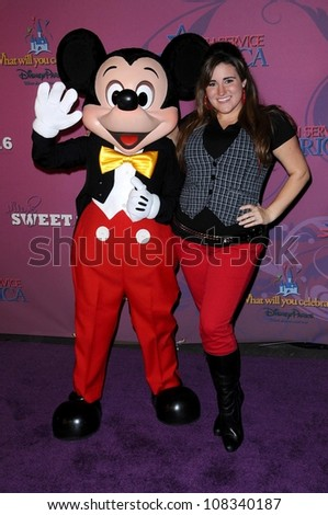 Kaycee Stroh  at the Sweet 16 Celebration for Miley Cyrus. Disenyland, Anaheim, CA. 10-05-08