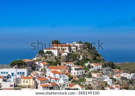 Kea island, Cyclades Greece - stock photo