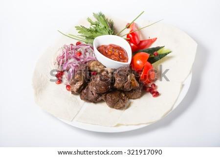 Kebab - stock photo