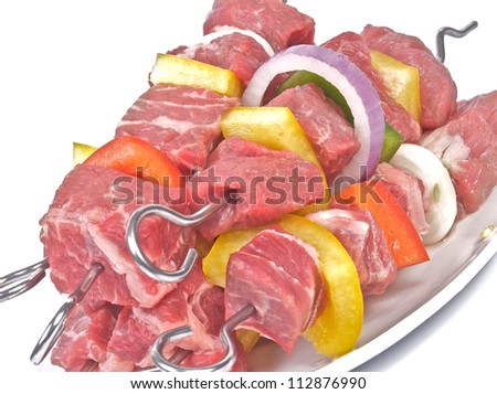 Kebabs - stock photo