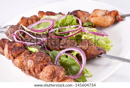 Kebabs - stock photo