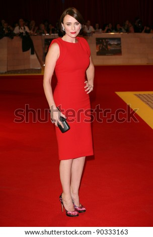 Keeley Hawes arriving for the UK Premiere of The Three Musketeers, at Westfield, London. 04/10/2011 Picture by: Alexandra Glen / Featureflash