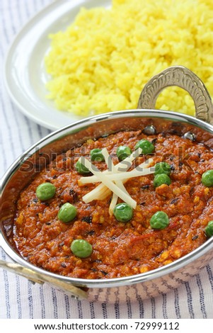 keema curry , indian food
