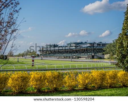 Keeneland Racecourse - stock photo