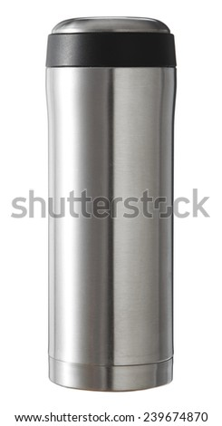 Keep a glass of water, heat - cool. - stock photo