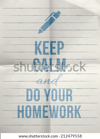 keep calm and do your essay