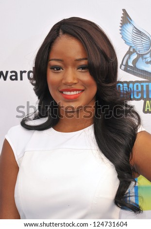 Keke Palmer at the 2012 Do Something Awards at Barker Hangar. Santa Monica Airport. August 19, 2012  Santa Monica, CA Picture: Paul Smith - stock photo